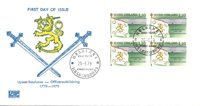 Finland 1979 - FDC - Firblok - LAPE nr. 837