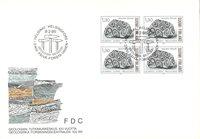 Finland 1986 - FDC - Firblok - LAPE nr. 979