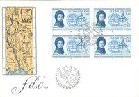 Finland 1986 - FDC - Firblok - LAPE nr. 999