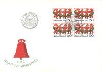 Finland 1986 - FDC - Firblok - LAPE nr. 1003