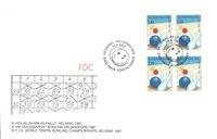 Finland 1987 - FDC - Firblok - LAPE nr. 1012