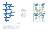 Finland 1987 - FDC - Firblok - LAPE nr. 1026