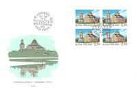 Finland 1988 - FDC - Firblok - LAPE nr. 1034