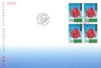 Åland 1994 - FDC - Firblok - LAPE nr. 86