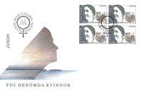 Åland 1996 - FDC - Firblok - LAPE nr. 114