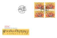 Åland 1996 - FDC - Firblok - LAPE nr. 115