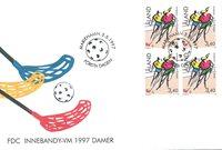 Åland 1997 - FDC - Firblok - LAPE nr. 127