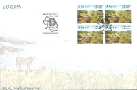 Åland 1999 - FDC - Firblok - LAPE nr. 157