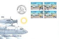 Åland 1999 - FDC - Firblok - LAPE nr. 159