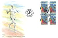 Åland 1999 - FDC - Firblok - LAPE nr. 163