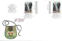 Åland 1993 - Env.premier jour avec gutterpair - LAPE no 74