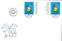 Åland 1996 - FDC med gutterpair - LAPE nr.  108