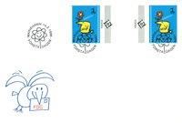 Åland 1996 - Env.premier jour avec gutterpair - LAPE no.  108