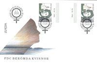 Åland 1996 - Env.premier jour avec gutterpair - LAPE no.  113