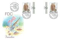 Åland 1996 - Env.premier jour avec gutterpair - LAPE no.  117