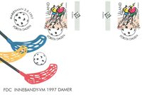 Åland 1997 - Env.premier jour avec gutterpair - LAPE no 127