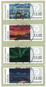 Franking labels 2017 - Central date cancellation - Set