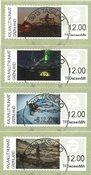 Frankeringsmærker 2016 - Centralt dagstemplet - Sæt
