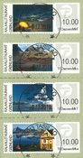 Franking labels 2014 - Central date cancellation - Set
