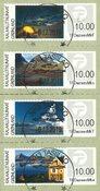 Frankeringsmærker 2014 - Centralt dagstemplet - Sæt