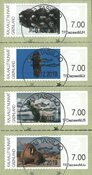 Franking labels 2011 - Central date cancellation - Set
