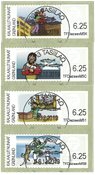 Franking labels 2009 - Central date cancellation - Set