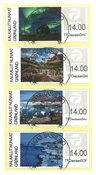 Franking labels 2018 - Central date cancellation - Set