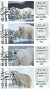 Franking labels 2019 - Grl. Post - Date cancellation - Local strip