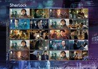 England - Sherlock Holmes - Postfrisk ark