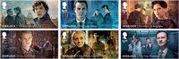 Gran Bretaña - Sherlock Holmes - Serie 6v. nuevo