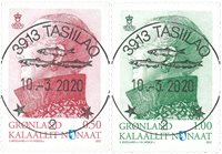 Definitives 2012 - Central date cancellation - Set
