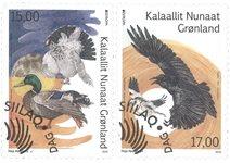 EUROPA - Nationale fugle - Førstedagsstemplet - Sæt