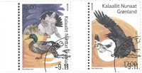 EUROPA - National Birds - Date cancellation - Set