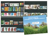 Belgien - Årsmappe 2010 - Postfrisk