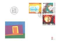 Grønland - Moderne Kunst - Førstedagskuvert sæt