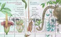 Belgien - Planter - Stemplet miniark