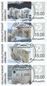 Franking labels 2019 - Central date cancellation - Set