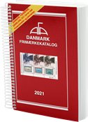 AFA - Denmark 2021 - Spiral bound - Stamp catalogue