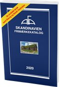 AFA - Scandinavia 2020 - Stamp catalogue