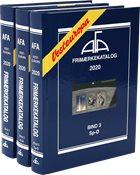 AFA - Catálogo Europa del oeste - 3 volúmenes