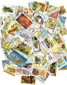 Animaux d´Afrique - 250 timbres diff.