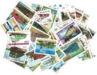Trains - 250 different stamps