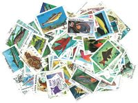 Fish and sealife - 250 different stamps