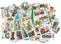 Voitures et motos - 250 timbres diff.