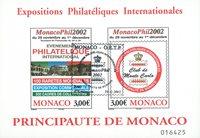 Monaco - Monacophil - Bloc-feuillet oblitéré