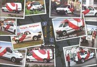 Belgien - Europa 2013 - Stemplet miniark