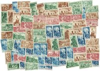 French Colonies - 83 stamps - Protecting the native children