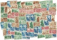 Colonias Francesas - 83 sellos - Protección de niños indígenas