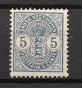 Danish West Indies  - AFA 17 - Mint