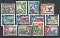 British Colonies 1957 - Mic. 20-31 - Unused
